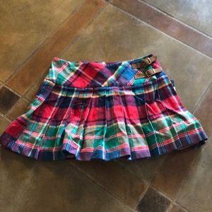 Ralph Lauren Plaid Children's Skirt